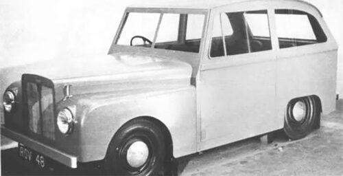 Road Rover-experimentbil från 1951.