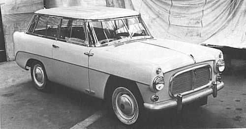 Road Rover Series II från 1957.