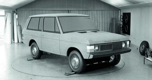Road Rover-experimentbil från september 1967.