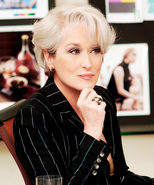 En stor förebild för Alexandra Rapaport är skådespelaren Meryl Streep.