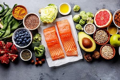 Grönsaker, protein och kolhydrater, allt ska finnas med på din tallrik!