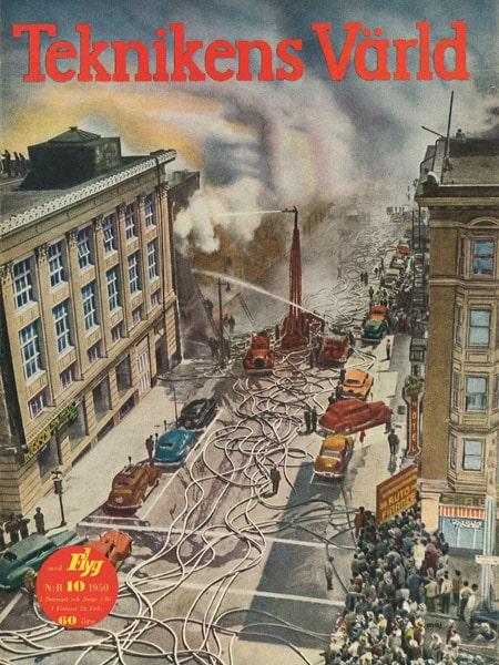Teknikens Värld nummer 10 / 1950