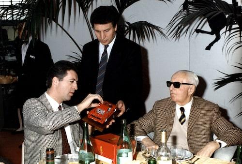 Enzo och Piero Ferrari