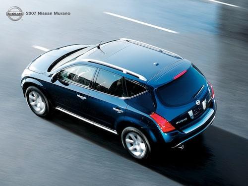 Nissan Murano som den ser ut i dag.