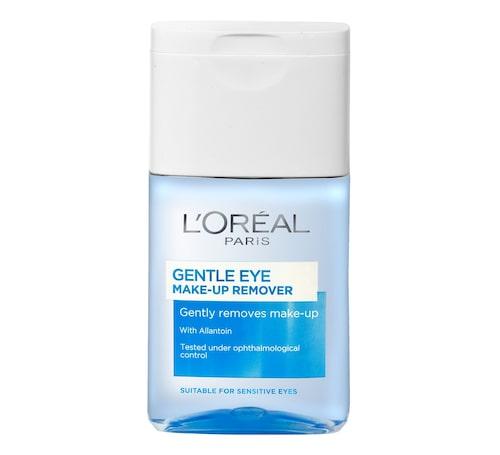 Gentle eye make-up remover är den billigaste ögonmakeup removern i vårt bäst i test.