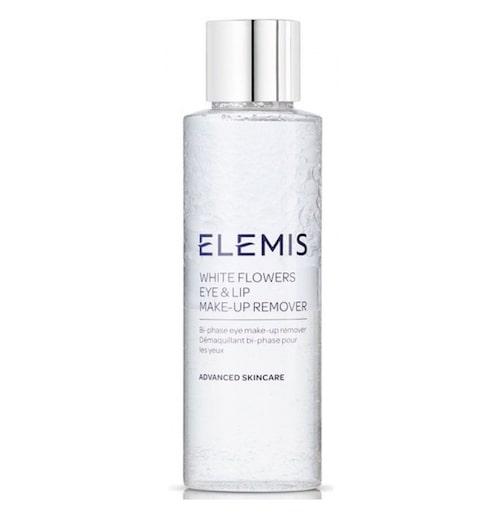 White flower eye & lip makeup remover, 125 ml, Elemis.