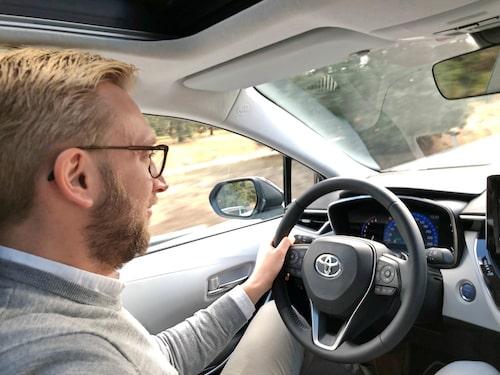 Nya Corolla är utvecklad enligt Toyotas nya strategi som till stor del går ut på att bilarna ska vara roligare.