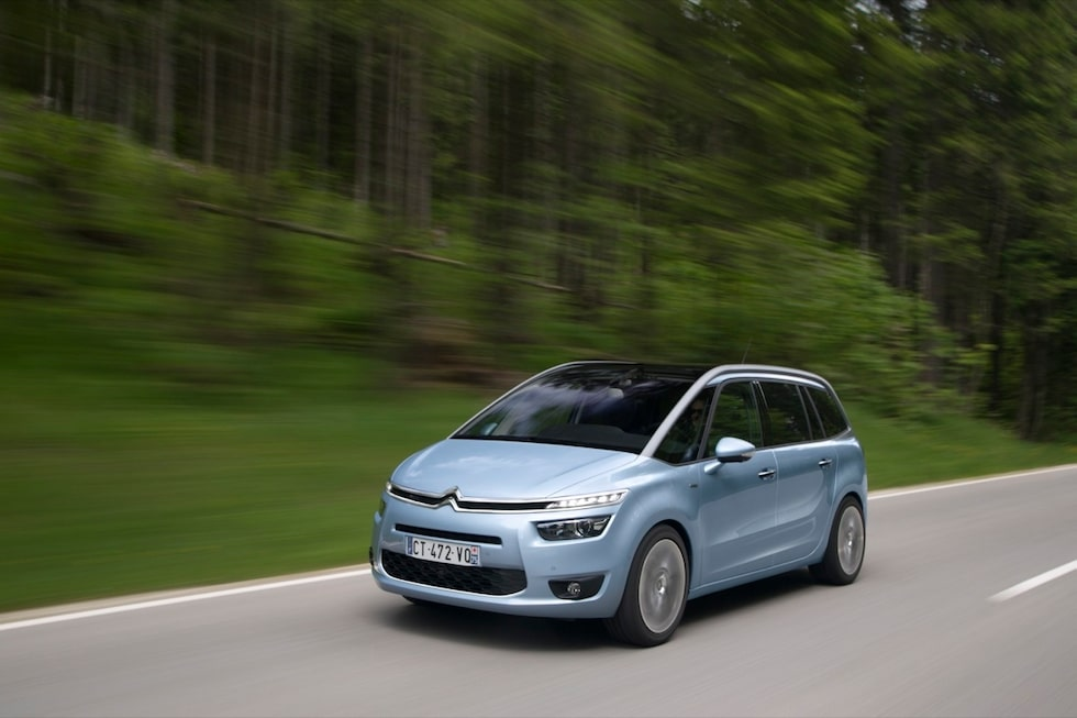 Lite galenskaper håller Citroën på med. Udda formgivning till exempel.