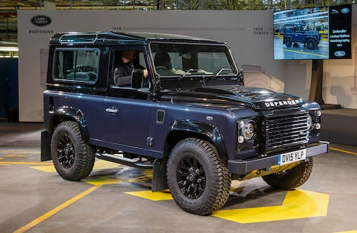 2015 Land Rover Defender Limited Edition Autobiography.