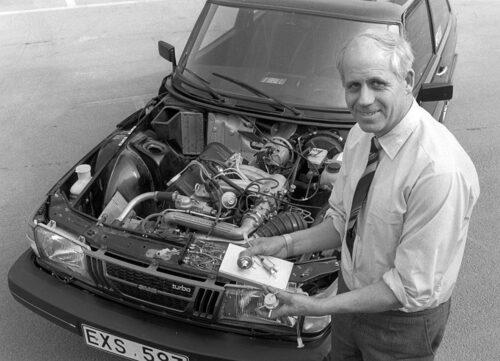 Motoringenjör Per Gillbrand behöver knappast någon närmare presentation. Hans betydelse för Saab Turbo kan inte förringas.