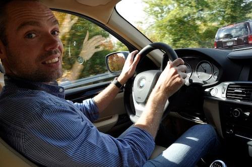 Vi tackar David Lilja för sin långväga provkörningsrapport av nya BMW X3.