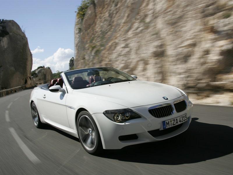 Provkörning av BMW M6 Cabriolet