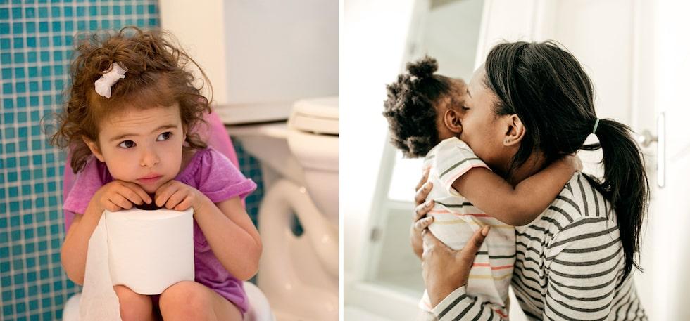 Det finns läkemedel och huskurer som hjälper barnet att bajsa. Här är tips - och råden från Vårdguiden 1177.