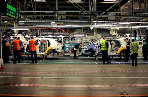 Toyotas fabrik i brittiska Burnaston.