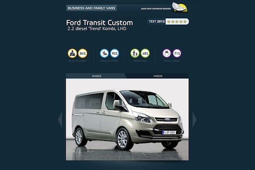 Familjebussklassen: Ford Transit Custom