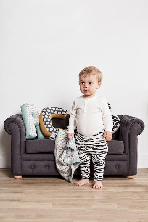 Tänk att ha en egen liten Chesterfieldsoffa i barnrummet!