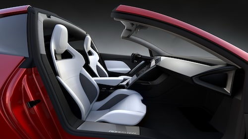 Nya Tesla Roadster är just en roadster.