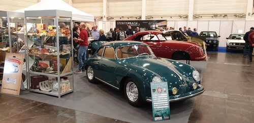 En vacker Porsche 356 från 1958.