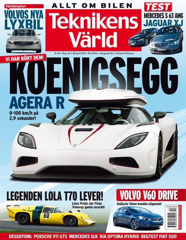 Teknikens Värld nummer 10 / 2011