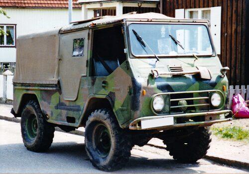 Valpen är en av fordonen som är till salu. Just det exemplar som syns på bilden är dock inte en av bilarna som går under klubban på Tradera. Foto: Mr. Choppers