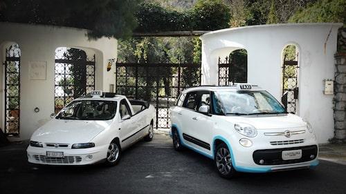 Gammal och ny Capri-taxi. En förbättring?