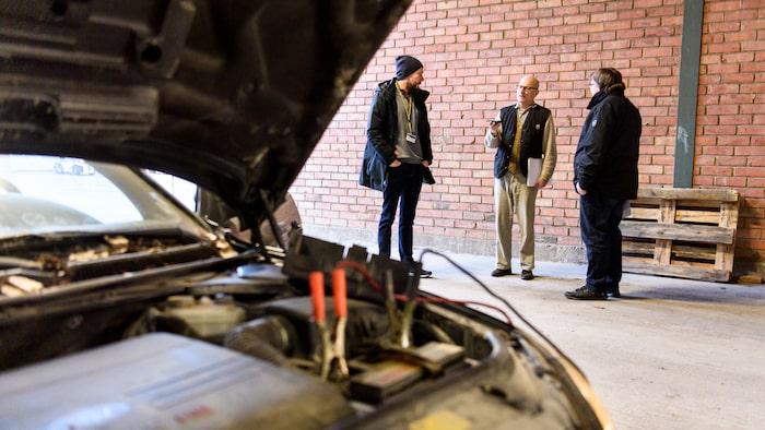 Gör inte som jag! Köp en bil som är besiktigad, påställd och körklar. Då minimeras risken.
