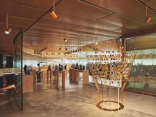 Inuti Musée Atelier Audemars Piguet.
