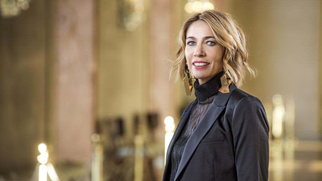 Karin Magnusson är programledare för SVT Morgonstudion