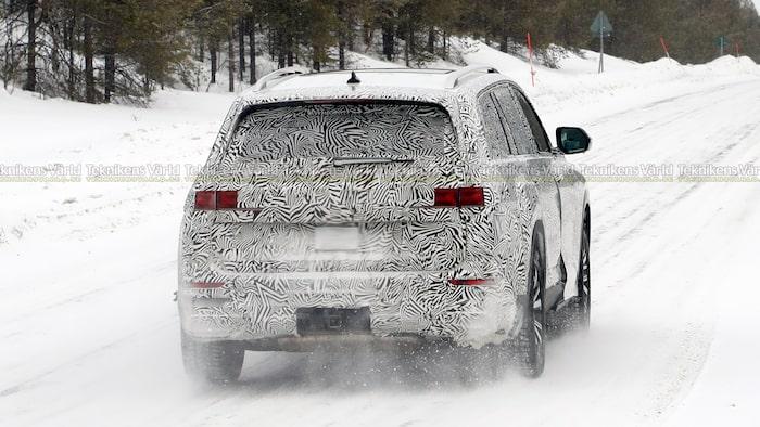 Audi Q7 mäter 506 centimeter, Q9 lär bli ännu längre.