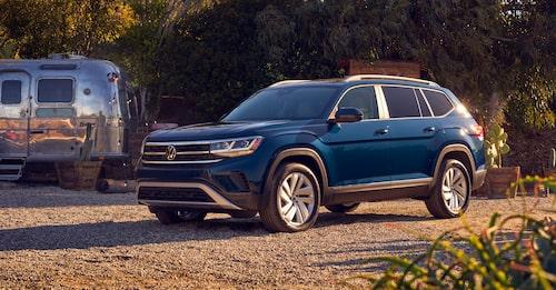 Stora Volkswagen Atlas säljs i USA och agera mula för kommande Audi Q9.