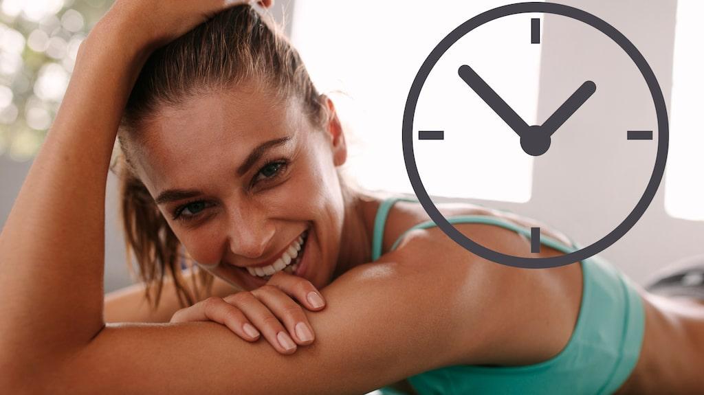 Genom att anpassa dig efter din inre biologiska klocka så ökar förutsättningarna för att hålla dig frisk och må som bäst.