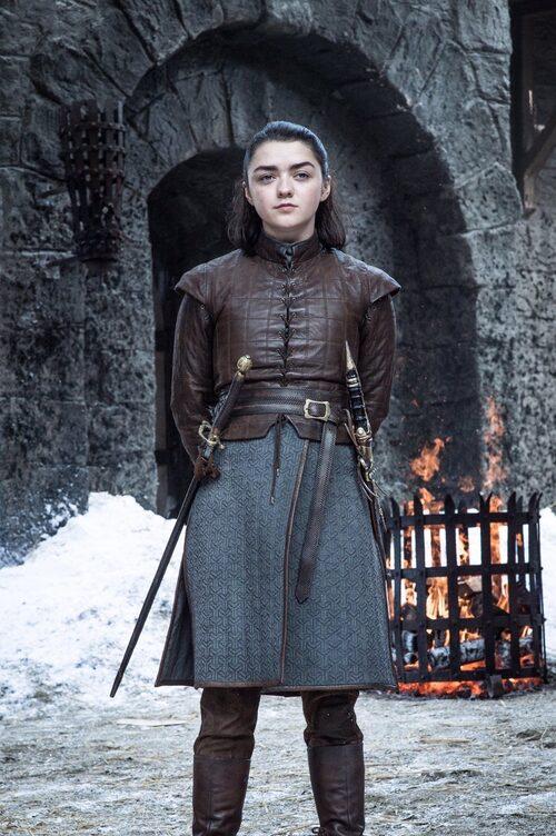 Cherrie känner igen sig i Arya Stark från Game of thrones,