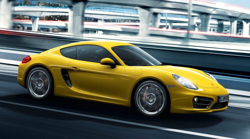 Nya Porsche Cayman S