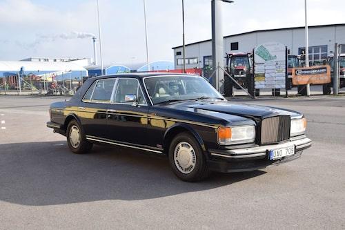 ... denna Bentley Turbo R från 1987...