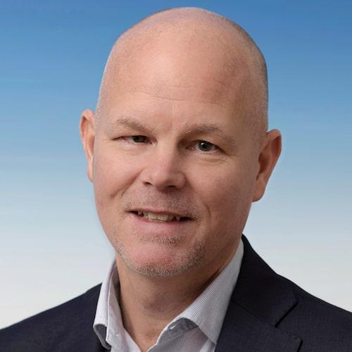 Marcus Thomasfolk, informationschef på Volkswagen Sverige.
