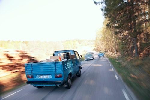 Gemensam nämnare för VW Typ 2 T1-T3 är svansmotor och förarhytt placerad ovanpå framaxeln. Konceptet dog ut först 2013.