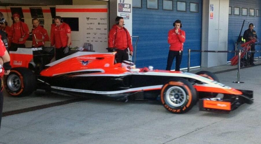 Marussia MR03