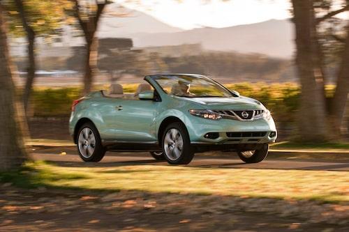 Visst minns du Nissan Murano Crosscabriolet? Nissan har med andra ord gjort knepiga cabrioleter tidigare, så Leaf utan tak kanske inte är så osannolik som man kanske tror...