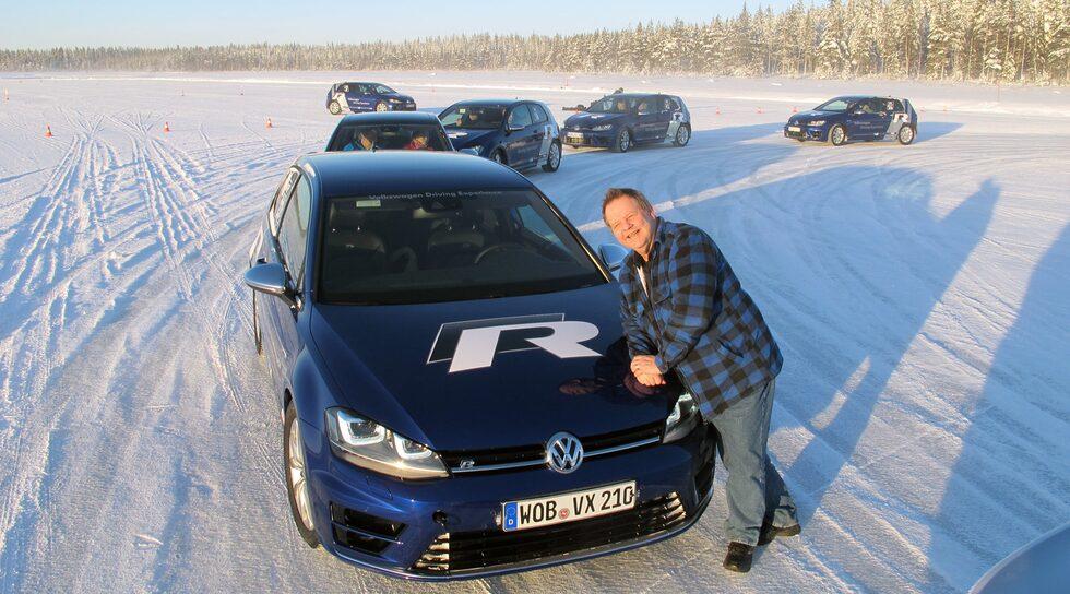 Nya Volkswagen Golf R med PeO Kjellström