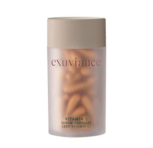 Kapslar med extra kraft (20 % C-vitamin) från Exuviance.