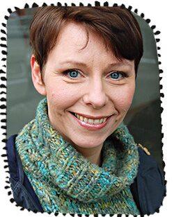 Jenny Klefbom, barnpsykolog.