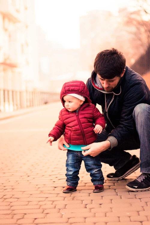 Det är viktigt att man som förälder känner sig trygg, säger psykolog Pia Risholm Mothander.