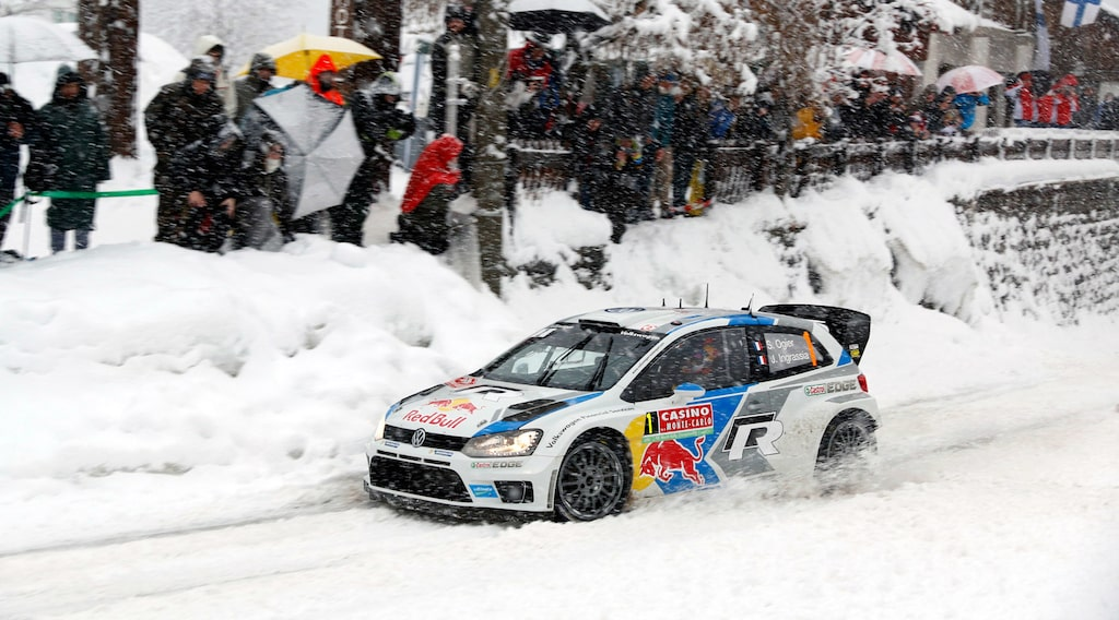 Sébastien Ogier vann Monte Carlo-rallyt 2014