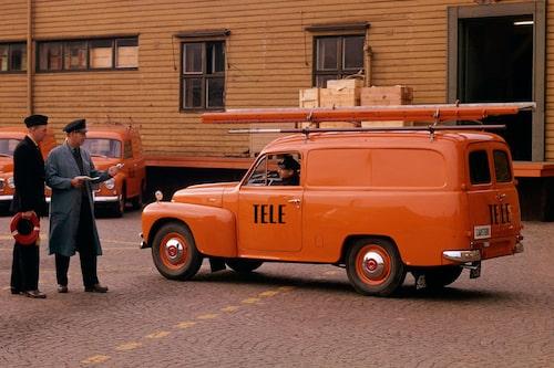 Volvo P120 Duett i Televerkets tjänst.