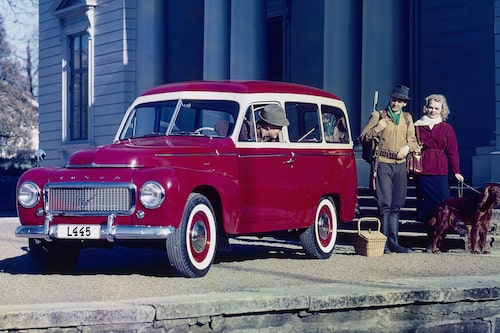 Volvo PV445 Duett, 1957.