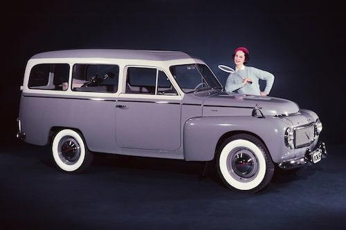 Volvo PV455 Duett, 1958.