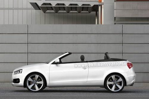 Den som vill köra öppet kan välja cabrioletversionen.
