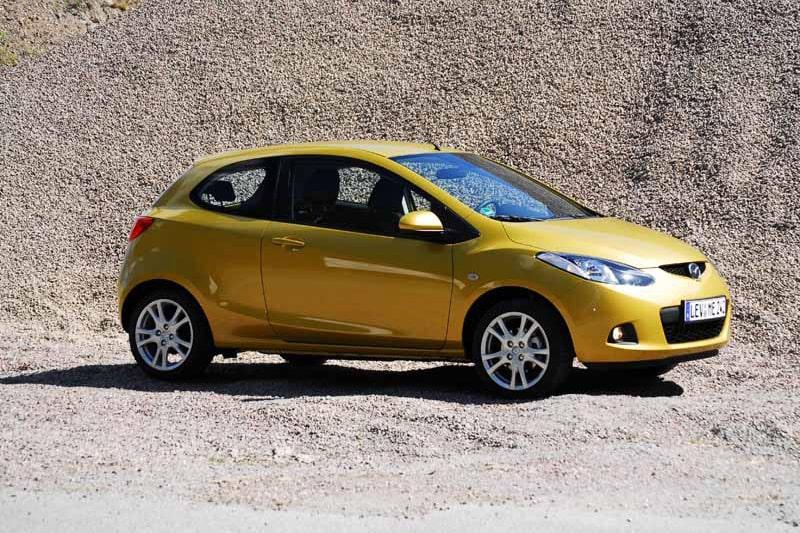 Provkörning av Mazda 2 1,5 Sport