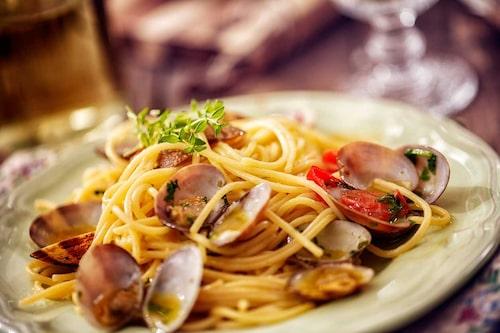 Spaghetti vongole – en italiensk klassiker!