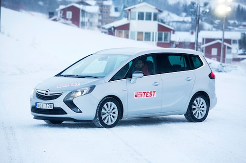 Opel Zafira Tourer i Teknikens Värld nummer 5/2013